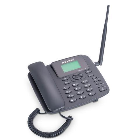 Imagem de Telefone Celular Rural Fixo de Mesa 3G Pentaband  850, 900 ,1800, 1900 e 2100MHZ Dual CHIP CA-42S3G