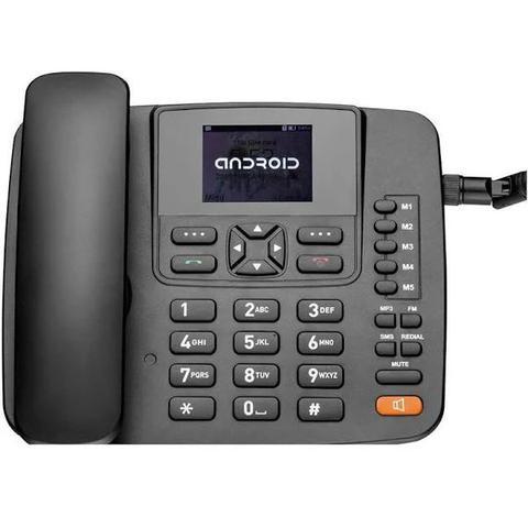 Imagem de Telefone Celular Rural Roteador 4G Wifi MP3 Radio FM RE505 Preto