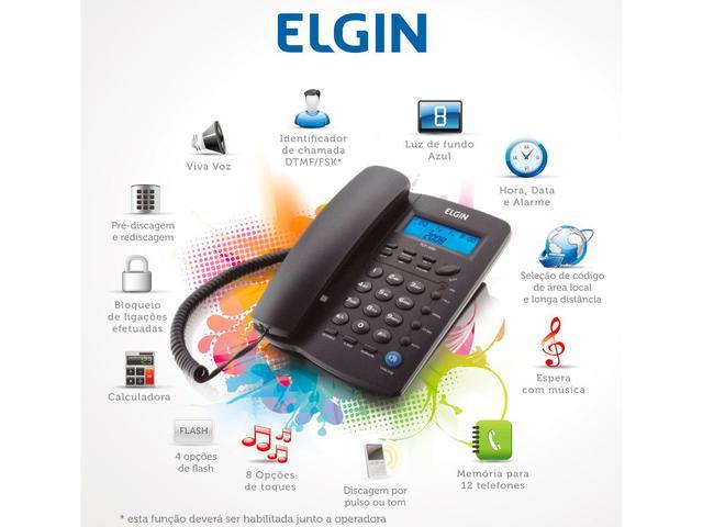 Imagem de Telefone com Fio Elgin 42TCF3000