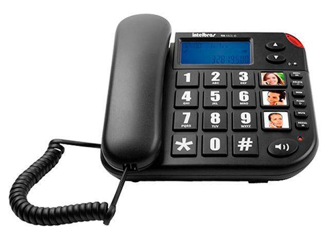 Imagem de Telefone Com Fio Intelbras Tok Fácil ID