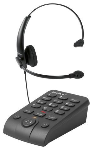Imagem de Telefone com Headset Intelbras HSB50