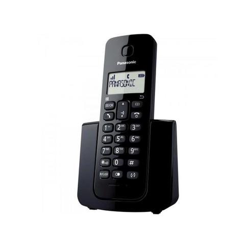 Imagem de Telefone Fixo Sem Fio 1,9 Ghz KX-TGB110LBB Preto DECT 6.0 Digital - Panasonic