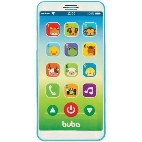 Imagem de Telefone Infantil Baby Phone Azul - Buba