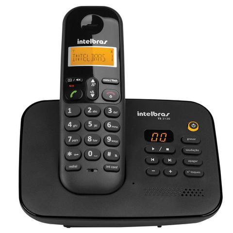 Imagem de Telefone Intelbras Sem Fio Digital com Secretaria Eletrônica - TS3130