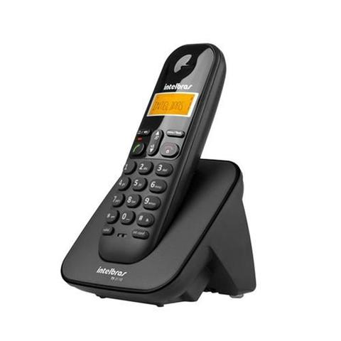 Imagem de Telefone Intelbras Sem Fio Ts 3110 Pt - TS3110 Preto
