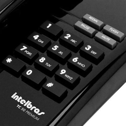Imagem de Telefone Intelbras Tc50 Premium C/Fio Preto