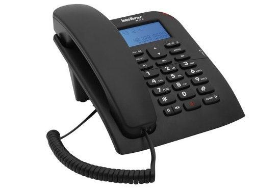Imagem de Telefone Intelbras TC60 ID com Identificador de chamadas BINA