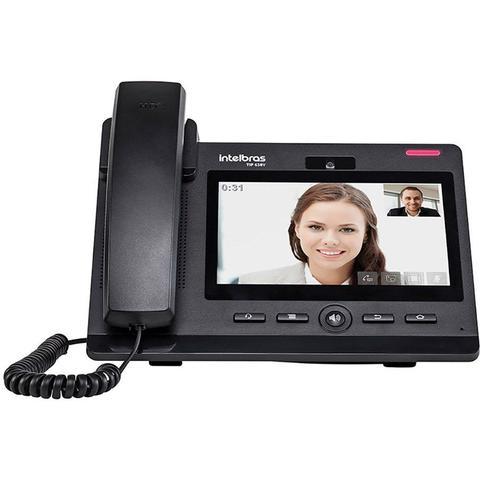 Imagem de Telefone IP Intelbras TIP 638V Vídeo Chamada Câmera 1.3MB Display Touch Screen