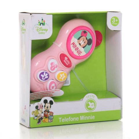 Imagem de Telefone Para Bebê Minnie Musical Disney Baby Dican