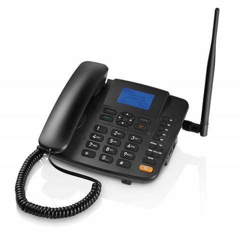 Imagem de Telefone Rural De Mesa Quadriband Dualsim Multilaser - Re502
