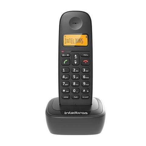 Imagem de Telefone sem fio com identificação de chamadas preto - ts2510, intelbras  intelbras