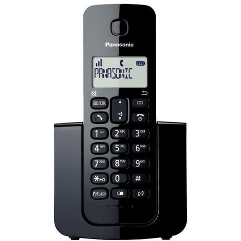 Imagem de Telefone sem Fio Dect 6.0 Panasonic KX-TGB110LBB