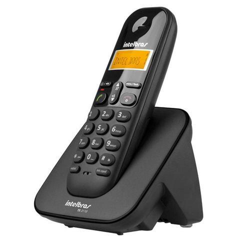 Imagem de Telefone sem Fio Intelbras, com Identificador de Chamada - TS3110