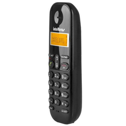 Imagem de Telefone sem Fio Intelbras TS 3110 com Display luminoso, Identificador de Chamada e Tecnologia DECT 6.0 - Preto