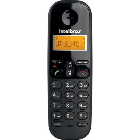 Imagem de Telefone Sem Fio Intelbras TS 3110 Preto