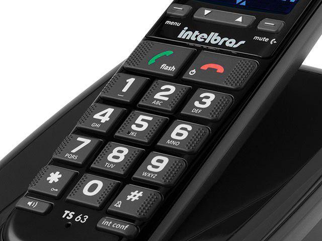 Imagem de Telefone Sem Fio Intelbras TS63 V