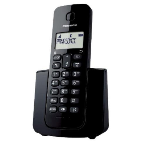 Imagem de Telefone sem fio kxtgb110lbb dect 6.0 preto panasonic