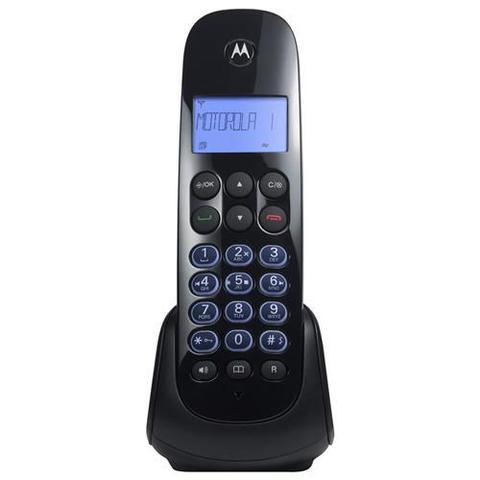Imagem de Telefone Sem Fio MOTO750SE c/ Ident. de chamadas, Viva-Voz e Secret. Eletrônica - Motorola