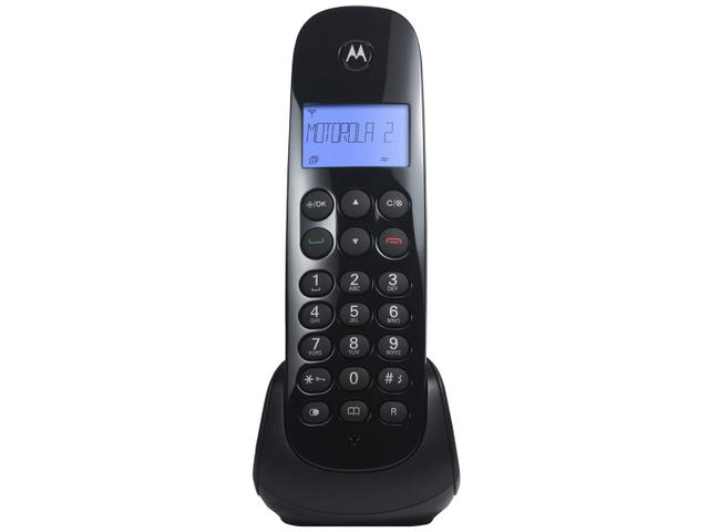 Imagem de Telefone Sem Fio Motorola MOTO700-MRD2 + 1 Ramal