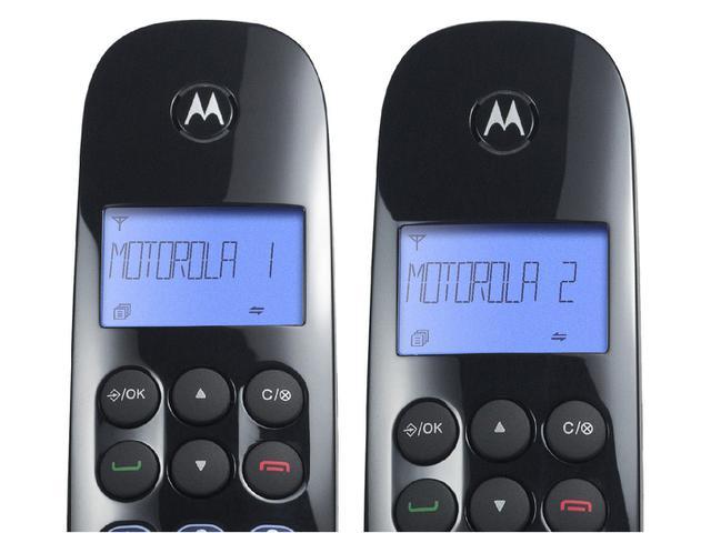 Imagem de Telefone Sem Fio Motorola MOTO750-MRD2 + 1 Ramal