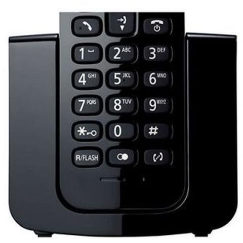 Imagem de Telefone Sem Fio Panasonic Com Id - Kxtgb110lbb - Preto - Bivolt