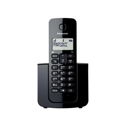 Imagem de Telefone sem Fio Panasonic com Identificador de Chamadas KX-TGB110LBB Preto