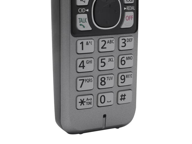 Imagem de Telefone Sem Fio Panasonic KX-TG6722LBB + 1 Ramal