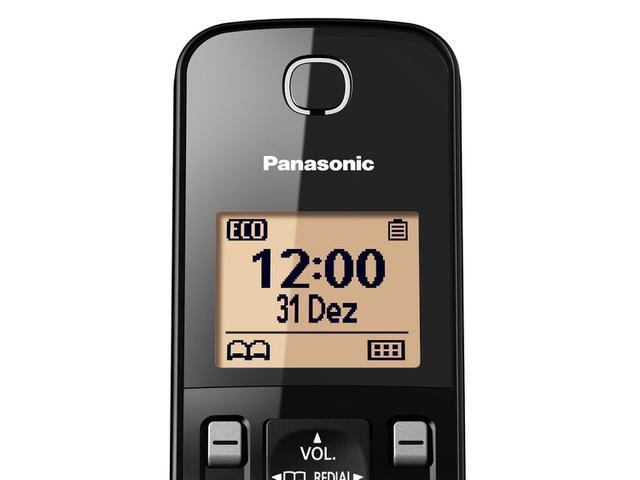 Imagem de Telefone Sem Fio Panasonic KX-TGC350LBB