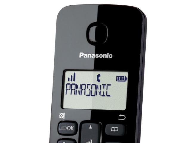 Imagem de Telefone Sem Fio Panasonic TGB112 + 1 Ramal