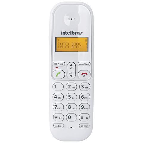Imagem de Telefone sem Fio TS3110 com Identificador de Chamadas Branco - Intelbras