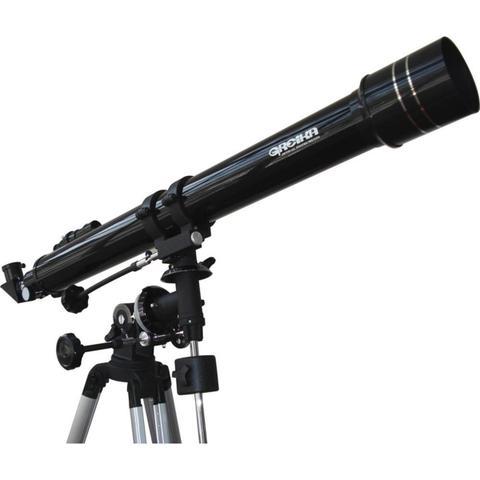 Imagem de Telescópio Equatorial Refrator 900X70mm com Tripé e Acessórios - Greika F90070EQ