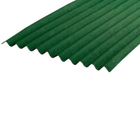 Imagem de Telha Ecológica Onduline Clássica 0,95X2,00m Verde