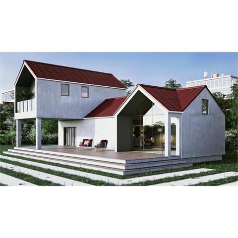 Imagem de Telha Ecológica Stilo Vermelha 200x95cm