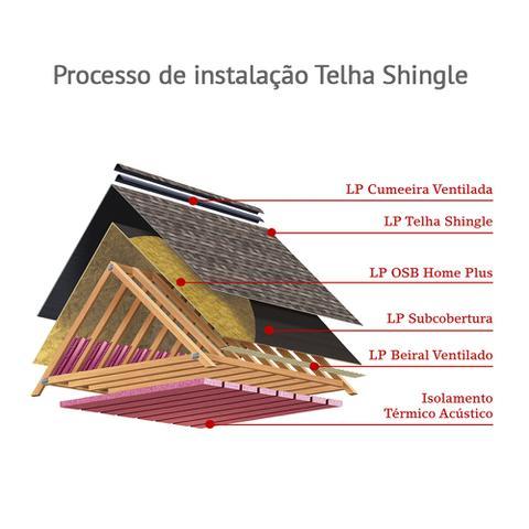 Imagem de Telha Shingle Supreme Ar Cinza Aspen Pacote com 3,10 m²