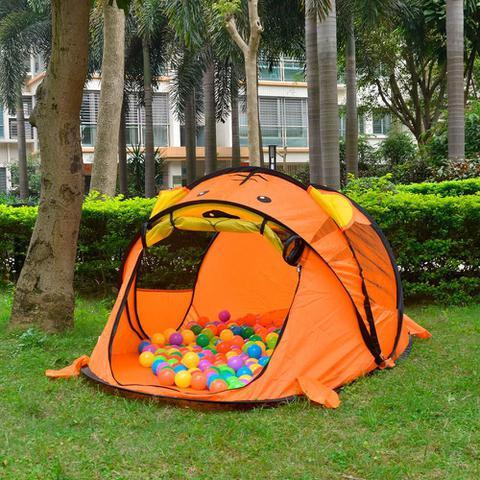 Imagem de Tenda Barraca infantil Praia Acampamento Laranja