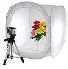 Imagem de Tenda Difusora Mini Estúdio Fotográfico 80x80cm Foto Still