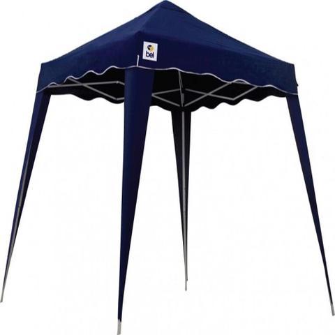 Imagem de Tenda Gazebo 3 X 3 Articulada Dobrável Alumínio Azul Belfix