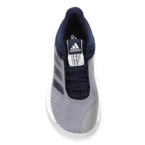 Imagem de Tênis Adidas Pro Spark 2018 Low Masculino - Cinza/Azul