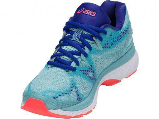 5775d169098 Tênis Asics Gel Nimbus 20 Feminino - Azul Claro - Calçados para ...