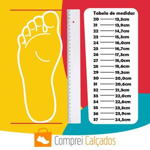 Imagem de Tênis Casual Sapatênis Infantil Minipasso Preto