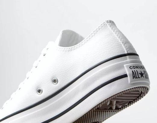 Imagem de Tenis Converse All Star Platform Cano Baixo branco ct09830001