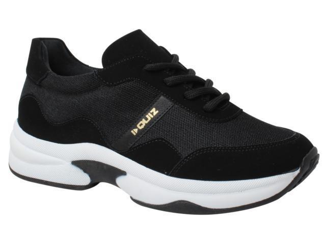 Imagem de Tênis Feminino Preto Sneaker Quiz 68-39921