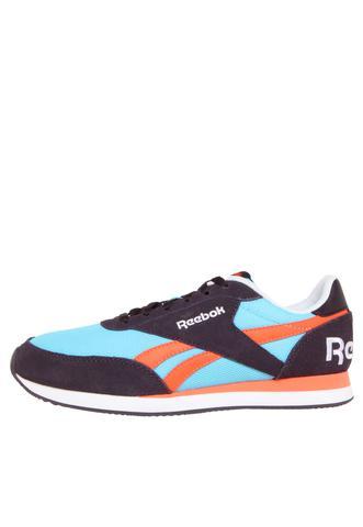 Imagem de Tênis Feminino Reebok Royal Cl Jog 2R Azul/Roxo/Laranja