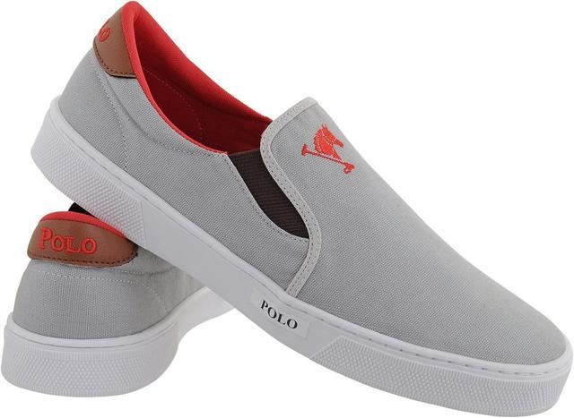 cc9ffa84f0 Tenis Masculino Sapato Polo Joy Iate Com Elástico Cinza - Tênis ...