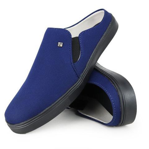 Imagem de Tênis Slip-On Mule Masculino Básico Azul
