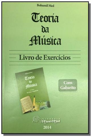 Imagem de Teoria da musica - livro de exercicios