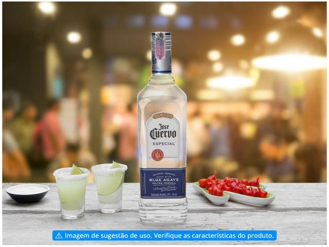 Imagem de Tequila Jose Cuervo Prata Especial 750ml