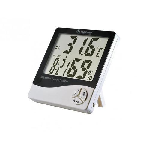 Imagem de Termo-higrômetro digital -10C +50C 20 90% UR máxima e mínima Incoterm