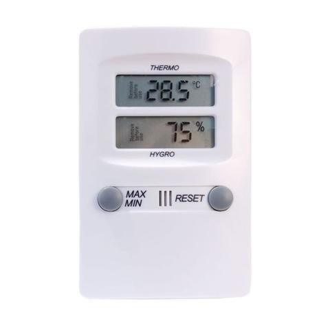 Imagem de Termo-higrômetro digital -10C+60:0,1C 10-99:1%UR máxima e mínima incoterm