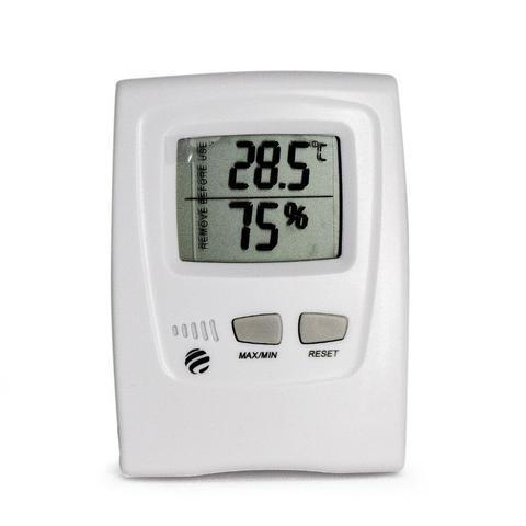 Imagem de Termo-higrômetro digital com temperatura interna e externa Incoterm
